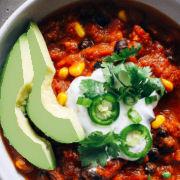 Easy Vegan Pumpkin Chili