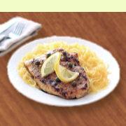 Chicken Piccata & Spaghetti Squash