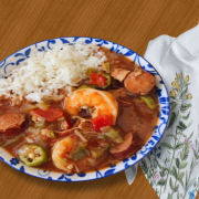 Chicken Sausage Shrimp Gumbo