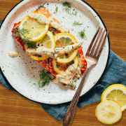 Quick Lemon Baked Salmon