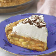 Banana Banoffee Pie