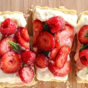Berry Tart With Lemon Mascarpone