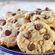 Chewy Chocolate Chip Pecan Oatmeal Cookies