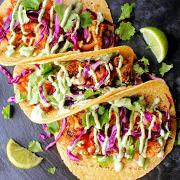 Cauliflower Onion Tacos